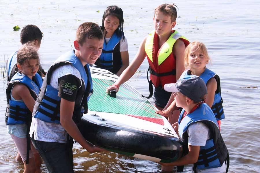 KLIWER SURF Kurs windsurfingowy dla dzieci i dorosłych